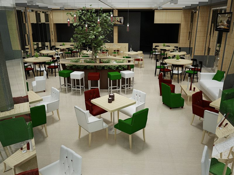 3d Design cafe
