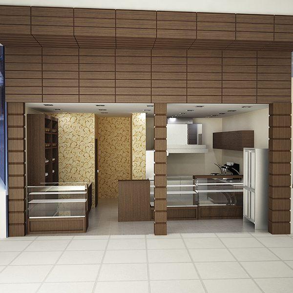 Coffee shop 3D παρουσίαση