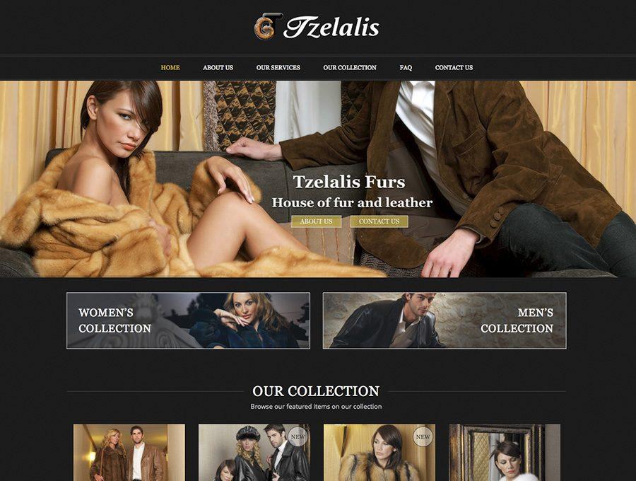 Ιστοσελίδα Tzelalis Furs