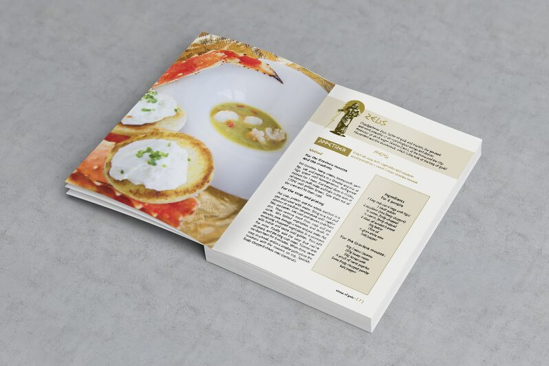 menus of gods cookbook