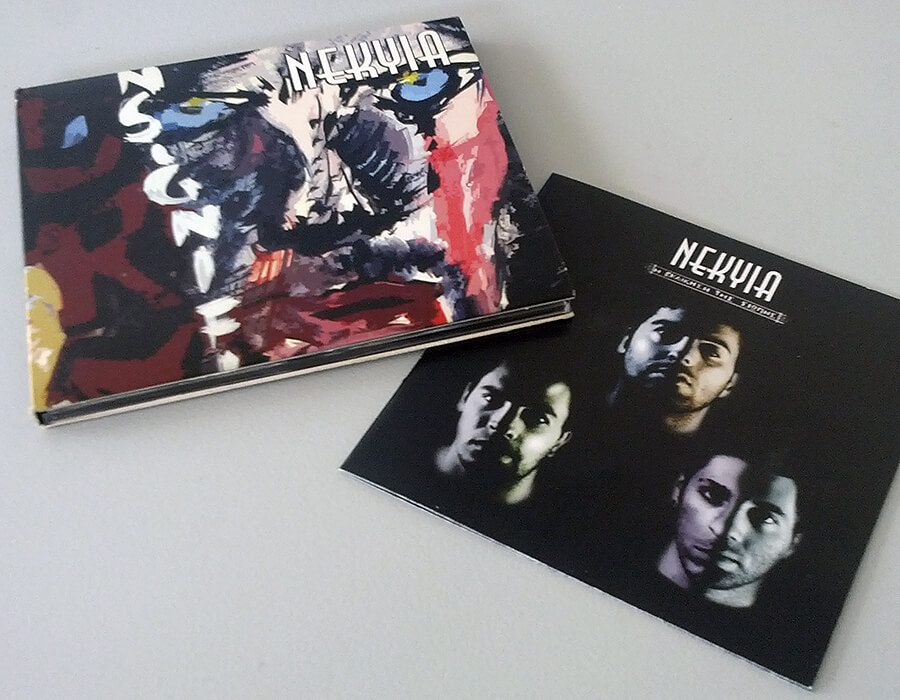 CD design Γκρουπ NEKYIA